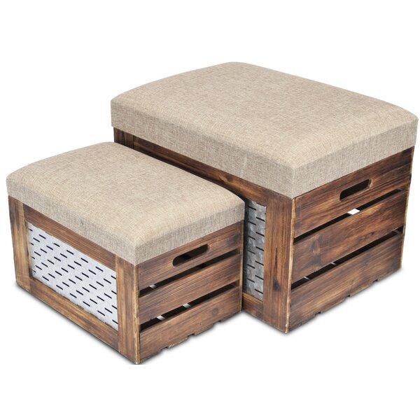 Feinberg 2 Piece Storage Bench Set