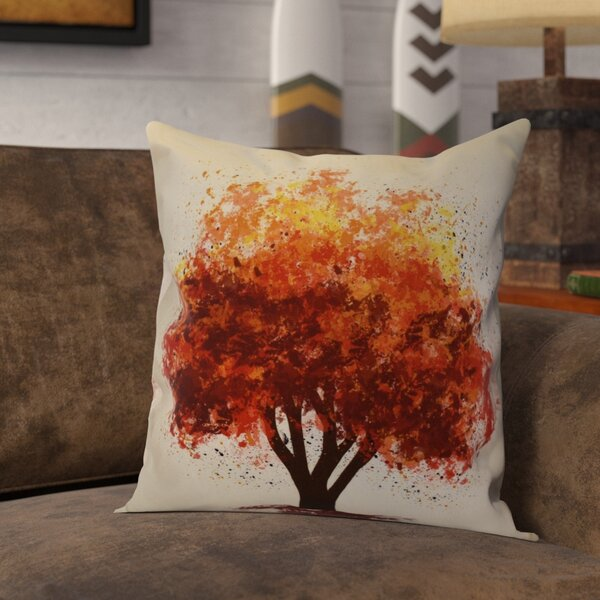 Brookfield Bounty Floral Throw Pillow by Loon Peak