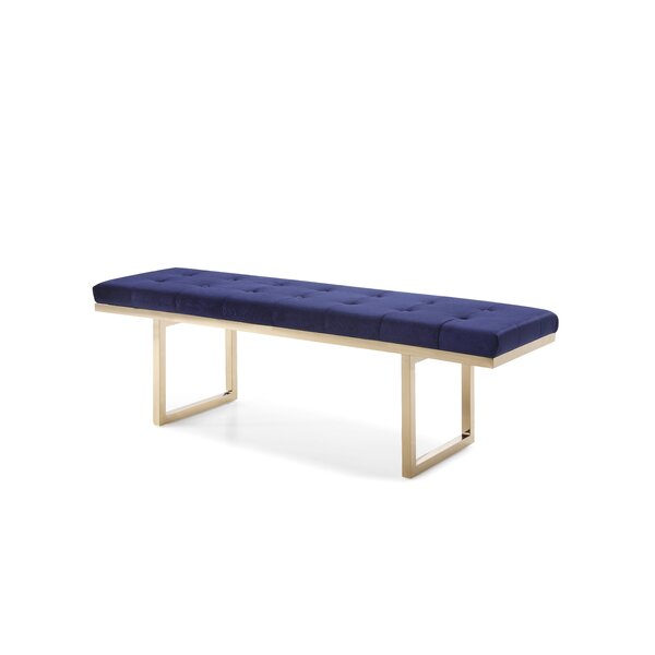 Huntingdon Modern Upholstered Bench by Everly Quinn