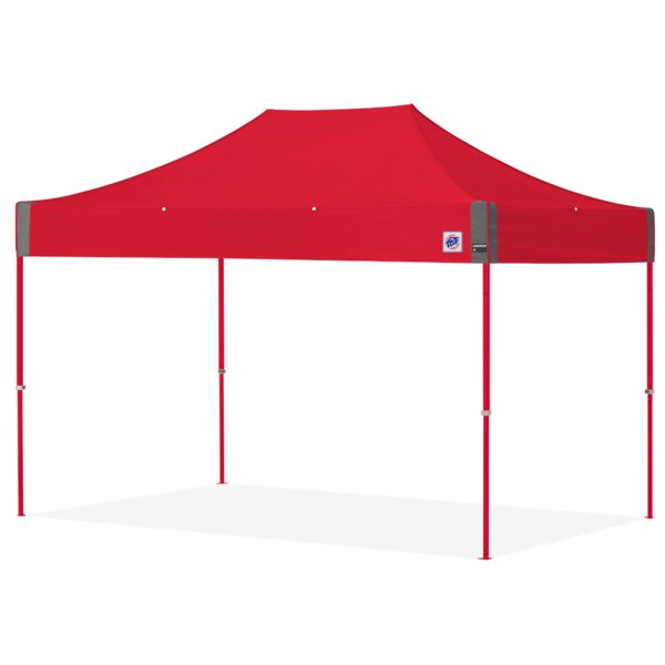 Speed Shelter 8 Ft. W x 12 Ft. D Steel Pop-Up Canopy by E-Z UP