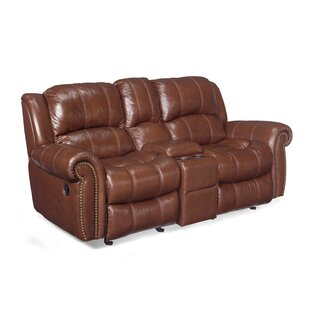 Entertainment 2 Glider Leather Reclining Sofa Hooker Furniture