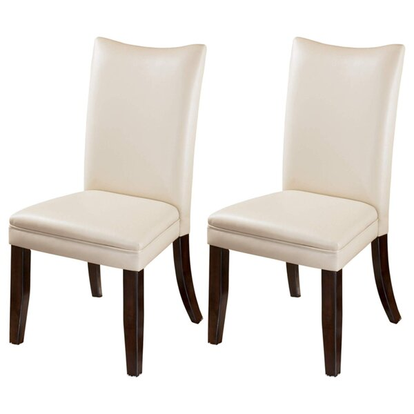 Silvestri Upholstered Dining Chair (Set of 2) by Winston Porter