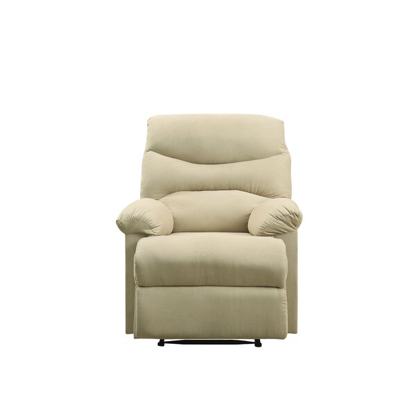 Ochlocknee Plush Chaise Manual Glider Recliner by Winston Porter
