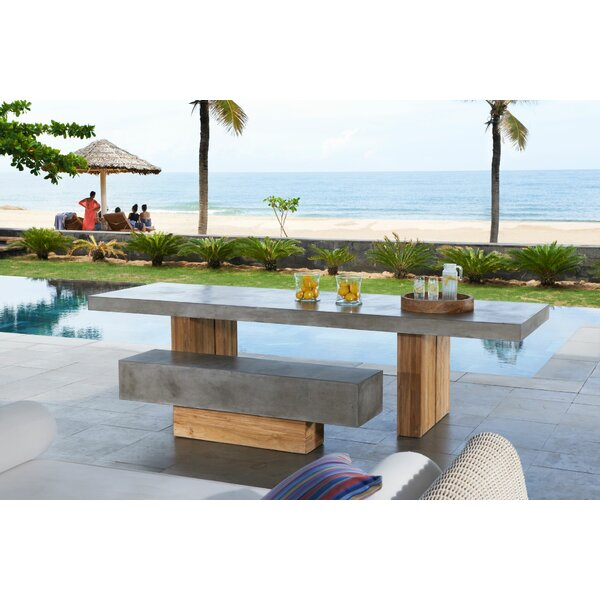 Perpetual 3 Piece Teak Dining Sets by Seasonal Living