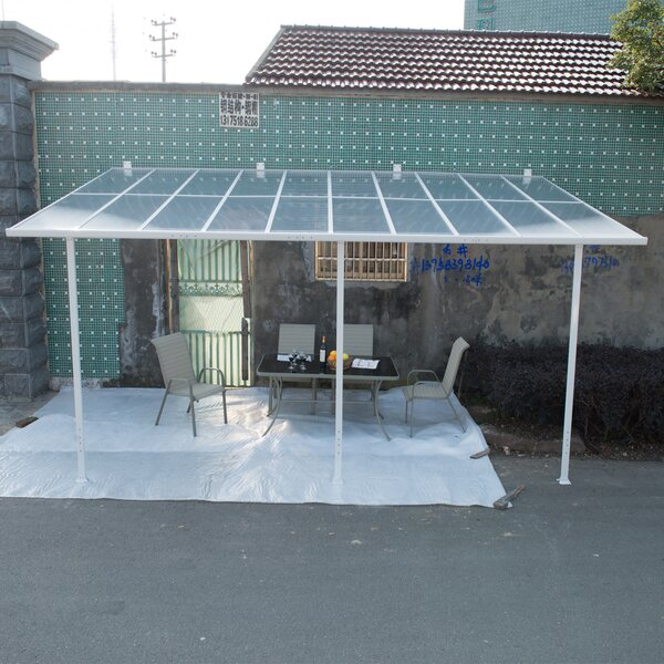 Outsunny 18 ft. W x 10 ft. D Patio Awning by Outsunny