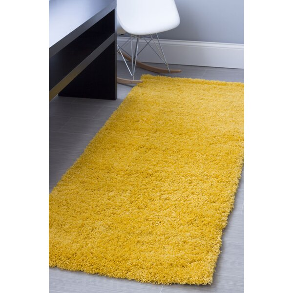 Yellow Area Rug by Super Area Rugs