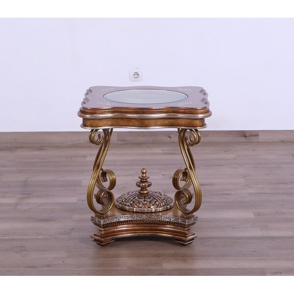 Meera End Table by Astoria Grand Astoria Grand