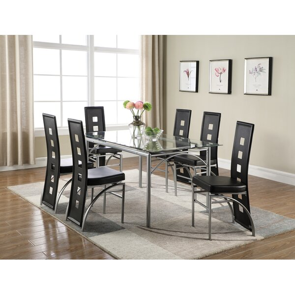 Sandon 7 Piece Dining Set by Brayden Studio Brayden Studio