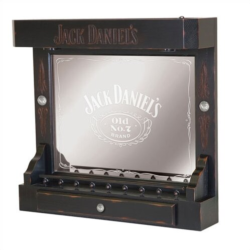 Jack Daniels Wall Bar By Jack Daniels Lifestyle Products.