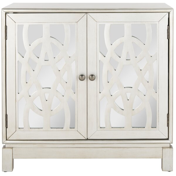 Drongen 2 Door Mirrored Accent Chest by Rosdorf Park Rosdorf Park