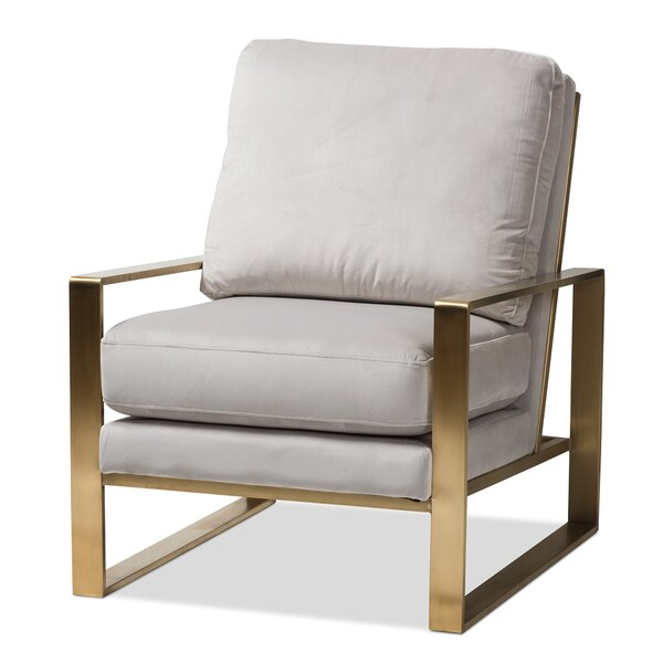 Genova Armchair by Everly Quinn Everly Quinn