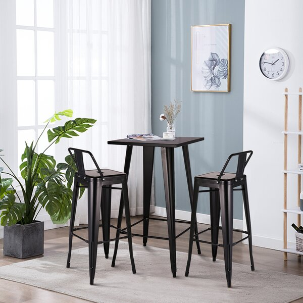 Sharvil 5 Piece Dining Set by Wrought Studio