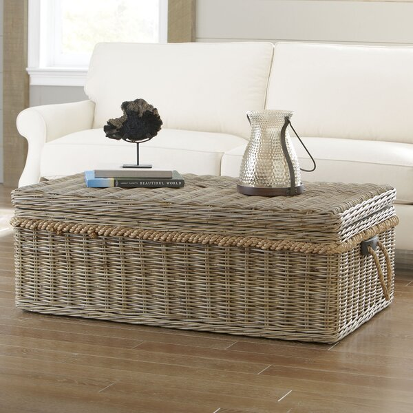 Roscoe Coffee Table with Storage by Longshore Tides