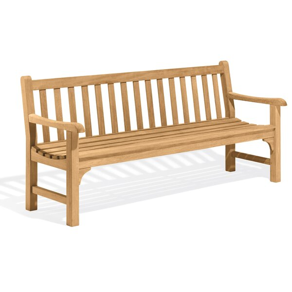 Dunloy Wood Garden Bench by Canora Grey