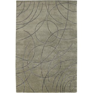 Order Ajmer Hand-Knotted Gray Area Rug By Meridian Rugmakers
