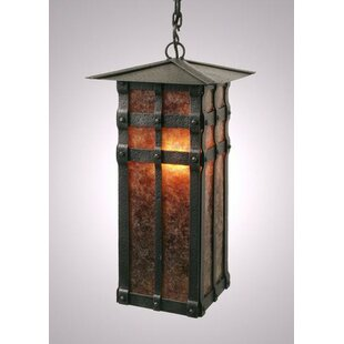 Best Deals San Carlos 1-Light Outdoor Hanging Lantern By Steel Partners