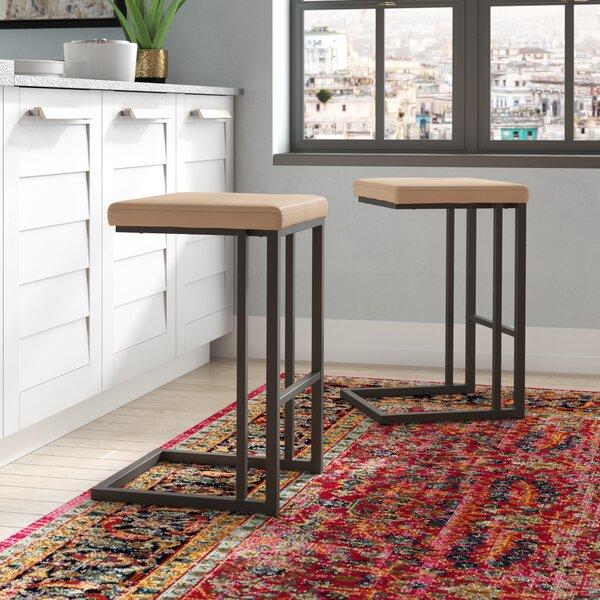 Calistoga Counter 25.75 Bar Stool (Set of 2) by Trent Austin Design