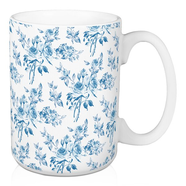 Wilmer Floral Coffee Mug by Ophelia & Co.