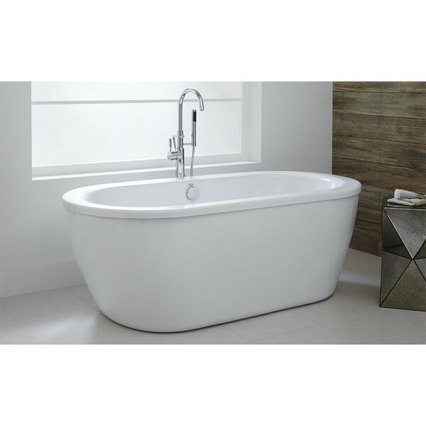 Cadet 64.625x 30.625 Freestanding Soaking Bathtub by American Standard