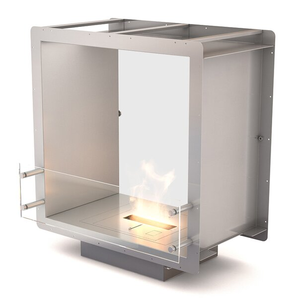 Double Sided Bio-Ethanol Fireplace by EcoSmart Fire