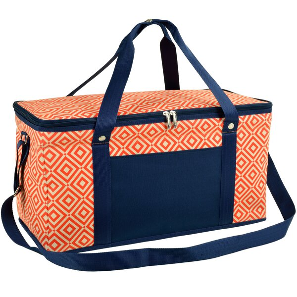 36 Quart Diamond Orange Ultimate Day Cooler by Picnic at Ascot