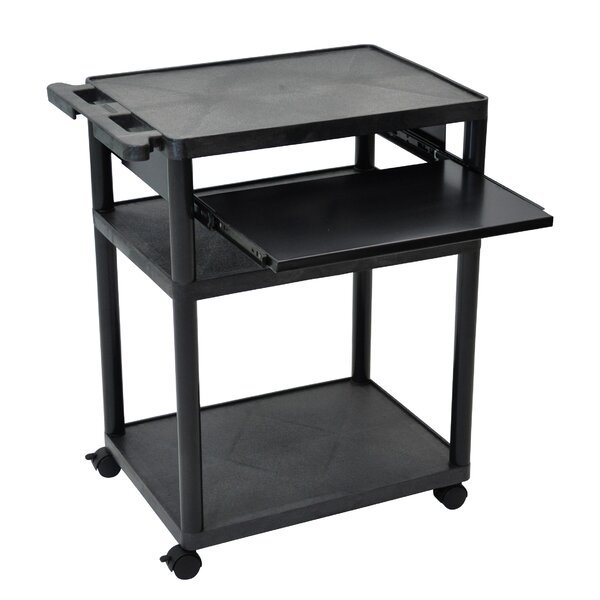 Mobile Computer Desk AV Cart by Luxor
