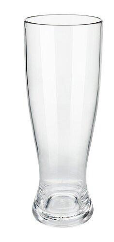Polycarbonate Pilsner Glass 7 oz. Crystal by True Brands