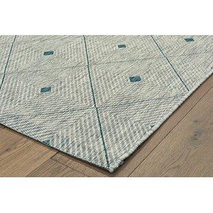 Hei Reversible Blue Gray Indoor Outdoor Area Rug