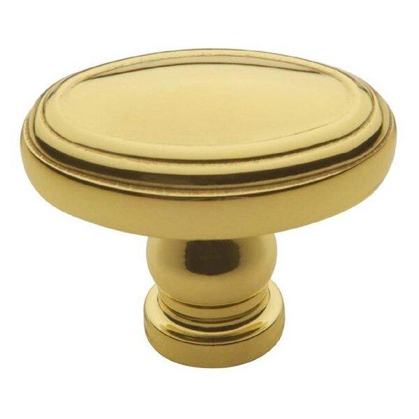 Decorative Oval Knob by Baldwin