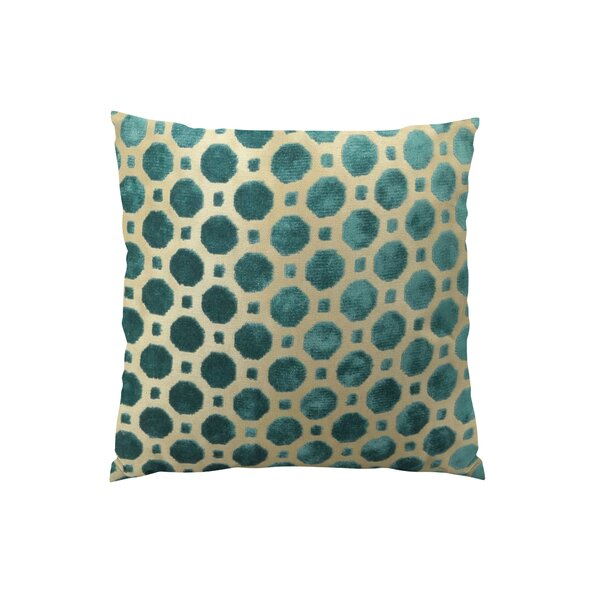 Velvet Double Sided Throw Pillow by Plutus Brands