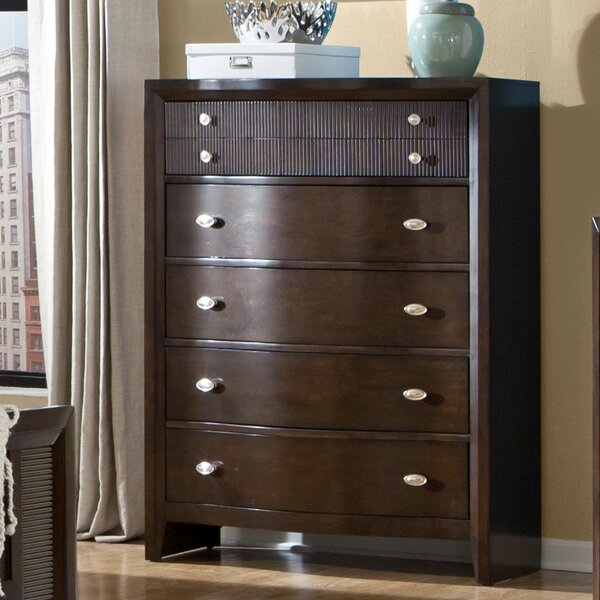 Dion 5 Drawer Chest by Bloomsbury Market