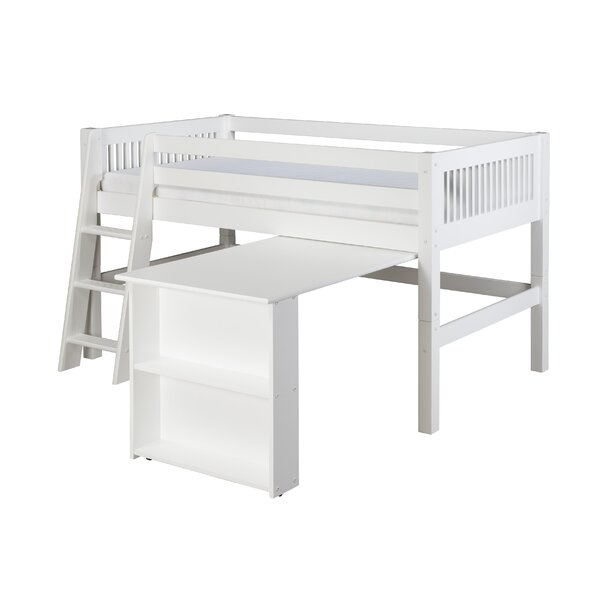 Isabelle Twin Low Loft Bed by Viv + Rae