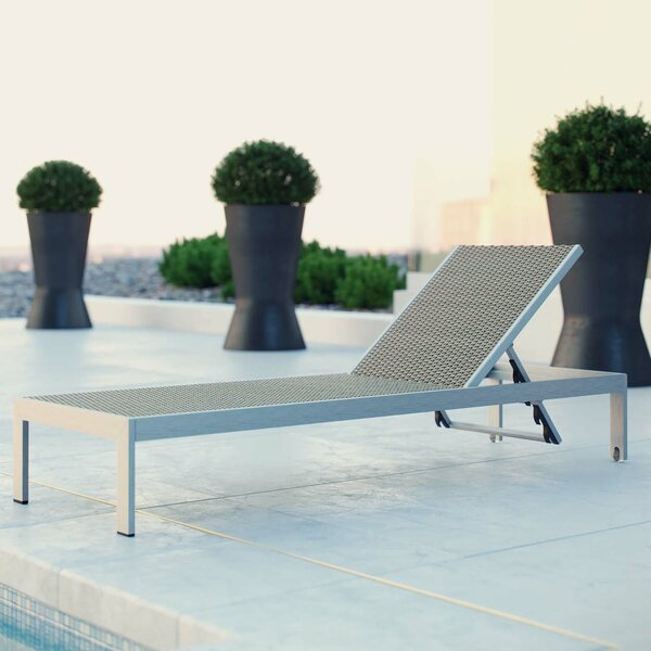 Coline Outdoor Patio Chaise Lounge by Orren Ellis