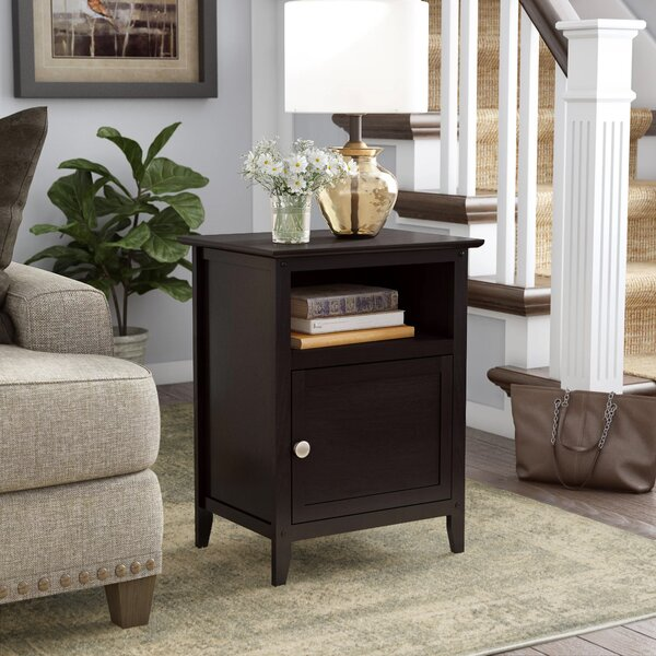 Creighton End Table by Beachcrest Home