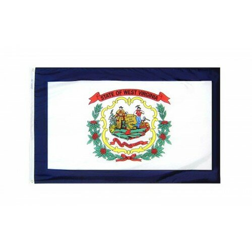 West Virginia Glo Traditional Flag by NeoPlex