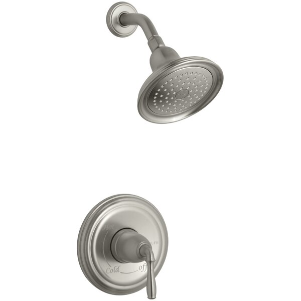 Devonshire Rite Temp Pressure-Balancing Shower Faucet Trim with Lever Handle, Valve Not Included by Kohler