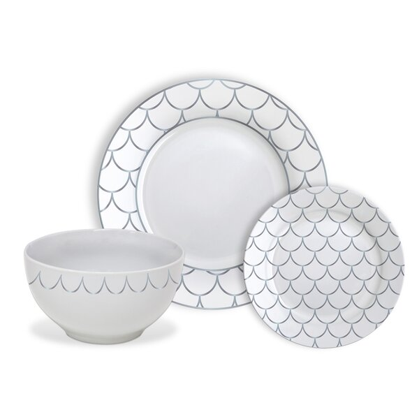 Blackstone 12 Piece Dinnerware Set, Service for 4 by Highland Dunes