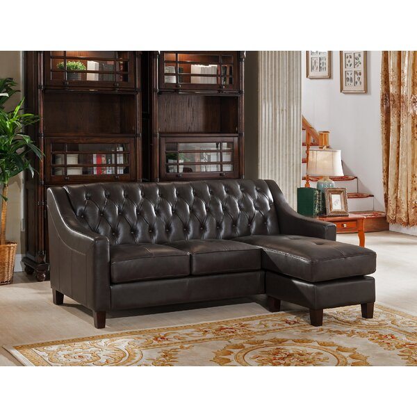 Charley Reversible Sectional by Canora Grey