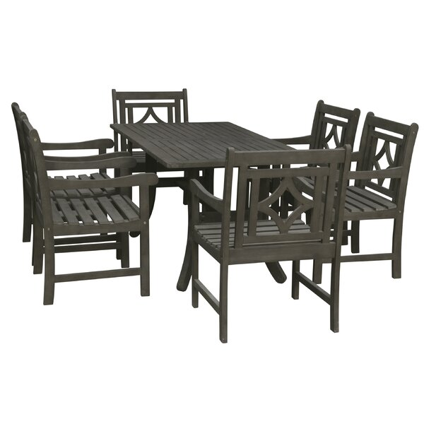 Shelbie 7 Piece Patio Dining Set By Sol 72 Outdoor