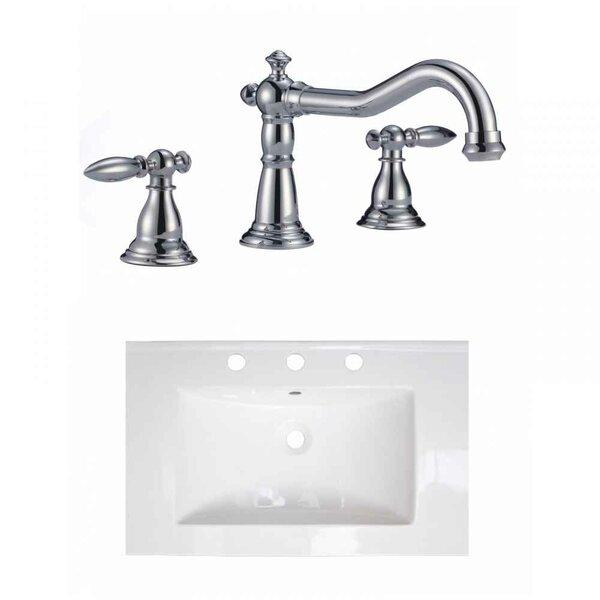 Latshaw Ceramic 24 Single Bathroom Vanity Top by Alcott Hill