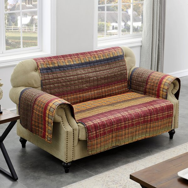Gold Rush Loveseat Slipcover By Barefoot Bungalow