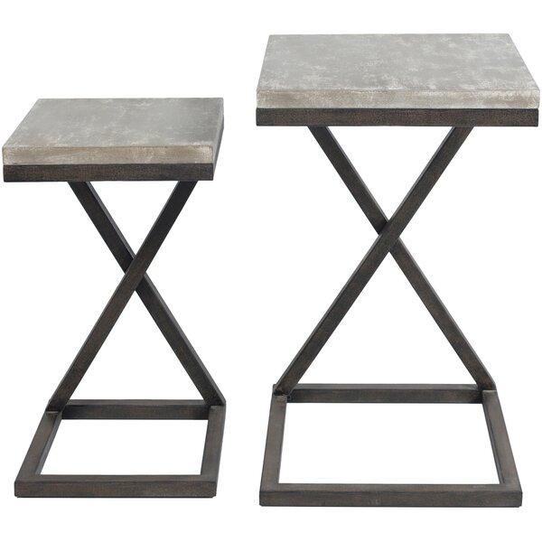 Review Kiara 2 Piece Nesting Tables