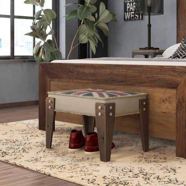 Kunkle Wood Bench by Trent Austin Design