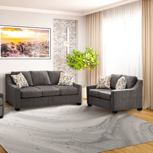 Laiana 2 Pieces Fabric Sofa And Loveseat Set by Red Barrel Studio®