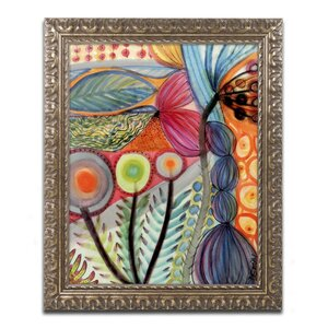 Vivaces by Sylvie Demers Framed Painting Print by Trademark Fine Art