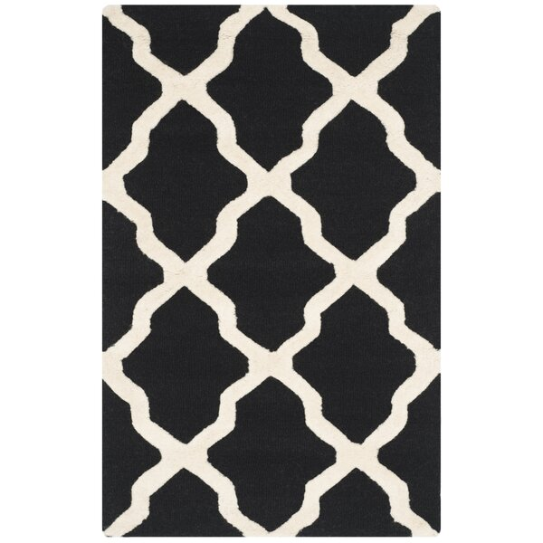 Charlenne Black & Ivory Area Rug by Zipcode Design