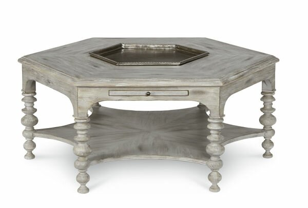 Davisboro Coffee Table with Tray Top by One Allium Way