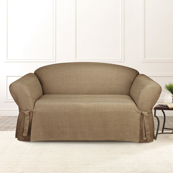 Mason Furniture Box Cushion Loveseat Slipcover By Sure Fit