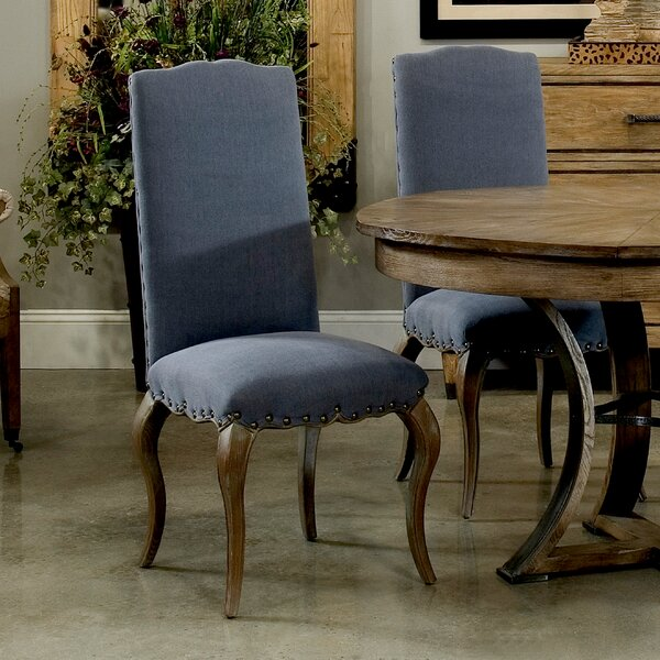 Thorne Upholstered Dining Chair (Set of 2) by Sarreid Ltd Sarreid Ltd