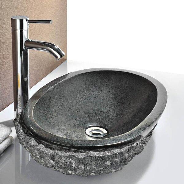 Dragons Stone Oval Vessel Bathroom Sink by ANZZI